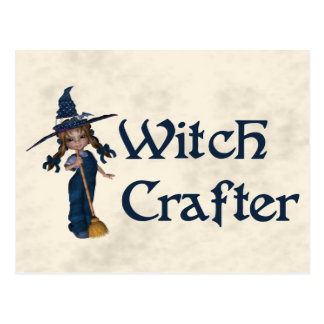 Witchcrafter Postkarte