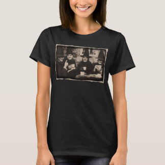 Witches Tea Party – old black/white T-Shirt
