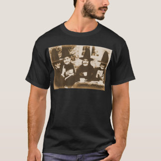 Witches Tea Party – sepia T-Shirt