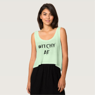 Witchy AF Behälter Tank Top
