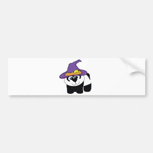 witchy goofkins Pandabär Auto Aufkleber
