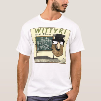 """Wittyki"" volle Front w/Back T-Shirt"