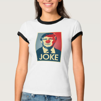 WITZ - Anti-Trumpf Propaganda-Zeichen - Clown -- T-Shirt