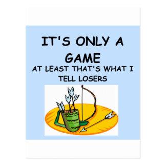 Witz für Sieger! Postkarte
