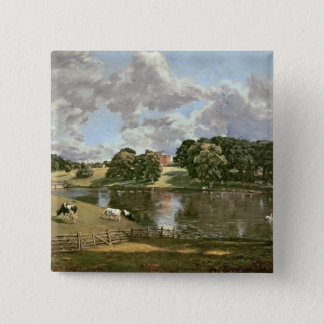 Wivenhoe Park, Essex, 1816 Quadratischer Button 5,1 Cm