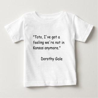 Wizzard des Unze-Film-Zitats Baby T-shirt