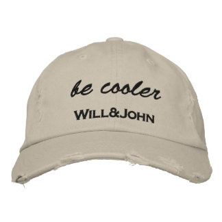 WJ Cap be cooler Bestickte Mütze