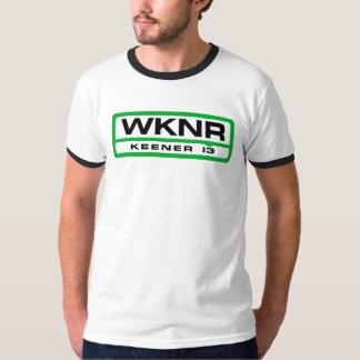 WKNR Detroit Rock Spitzen-40 u. RollenRadiosender T-shirt