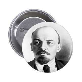 Wladimir Lenin Runder Button 5,7 Cm