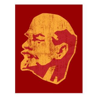 Wladimir Lenin cccp Porträt Postkarte