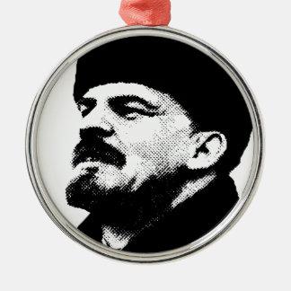 Wladimir Lenin Zeichnen Silbernes Ornament