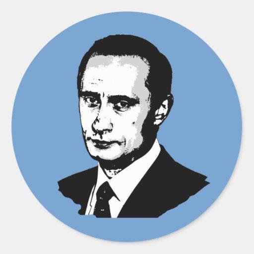 Wladimir Putin Runde Sticker