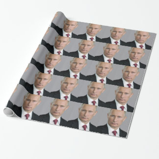 Wladimir Putin Gang Geschenkpapier