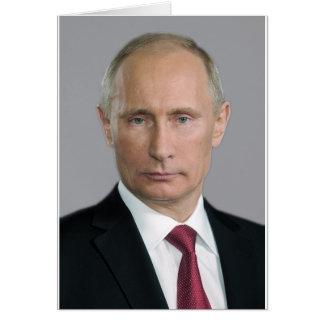 Wladimir Putin Gang Grußkarte