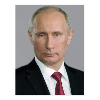 Wladimir Putin Gang Postkarte