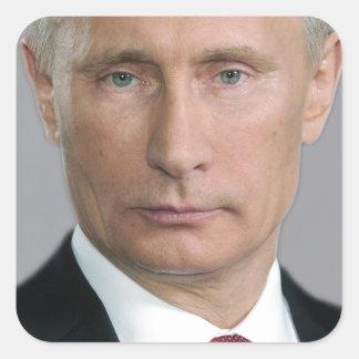 Wladimir Putin Gang Quadratischer Aufkleber
