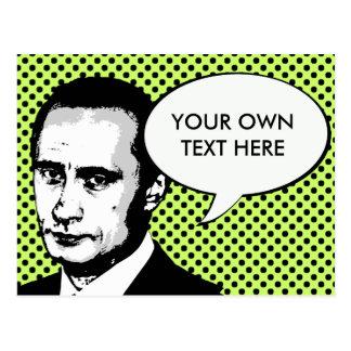 Wladimir Putin Postkarte