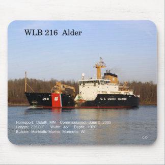 WLB 216 Erle mousepad