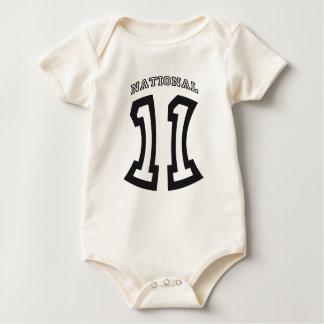 WM-Baby-Body Nationalelf 2011 Baby Strampler