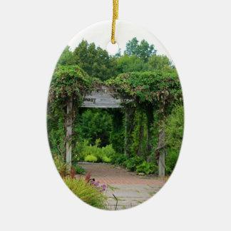 Wo Abfall der Blumenblätter Keramik Ornament