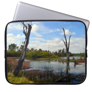 Wo das Tier-Spiel, Riverland, Australien, Laptopschutzhülle