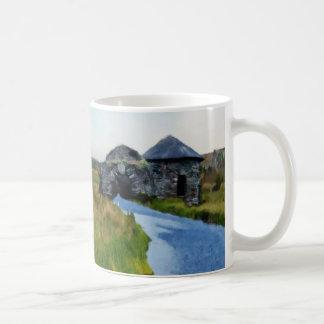 Wo der Fluss Tasse beendet