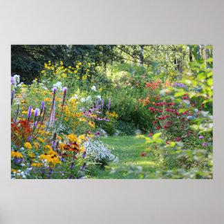 Wo drei Gärten sich treffen Poster