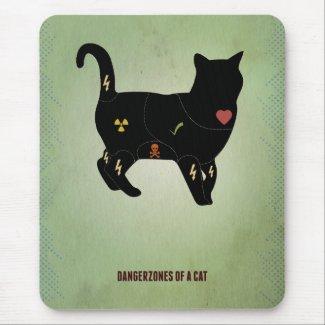 Wo Du Deine Katze streicheln darfst Mousepad
