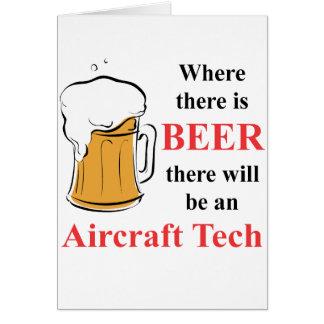 Wo es Bier - Flugzeug-Technologie gibt Karte