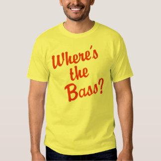Wo ist der Baß? T Shirts