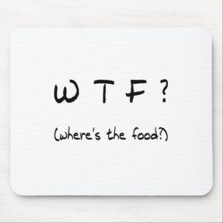 Wo ist die Nahrung? Mousepad