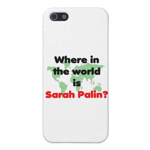 Wo ist Sarah Palin? iPhone 5 Case