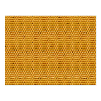 Wo mein Honig ist Postkarte