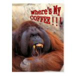 Wo mein Kaffee!! ist! Postkarten