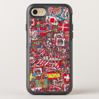 Wo Waldo enormes Party ist OtterBox Symmetry iPhone 8/7 Hülle