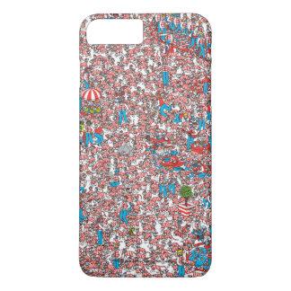 Wo Waldo Land der Schüsse ist iPhone 8 Plus/7 Plus Hülle