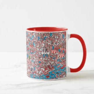 Wo Waldo Land der Schüsse ist Tasse