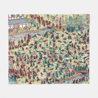 Wo Waldo | Problem in altem Japan ist Fleecedecke
