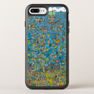 Wo Waldo Tiefsee-Taucher ist OtterBox Symmetry iPhone 8 Plus/7 Plus Hülle