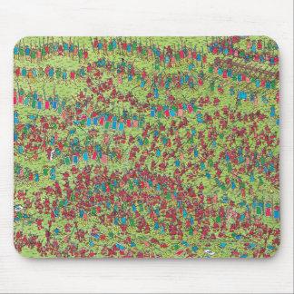 Wo Waldo   wilde rote Zwerge ist Mauspads
