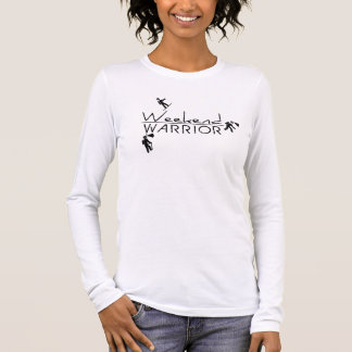 Wochenenden-Krieger Langarm T-Shirt