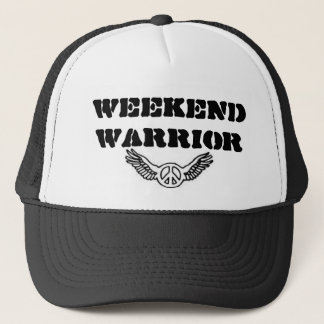 Wochenenden-Krieger Truckerkappe
