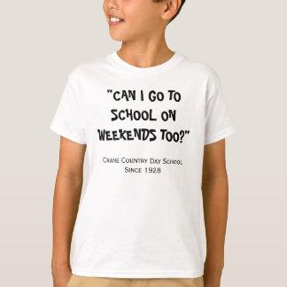 Wochenenden-Studenten-T - Shirt