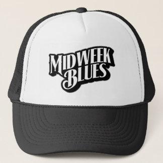 Wochenmitte-Blues-Fernlastfahrer-Hut Truckerkappe