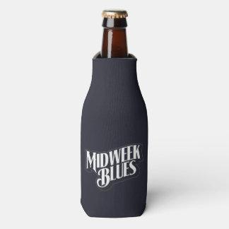 Wochenmitte-Blues-Flaschen-Halter Flaschenkühler