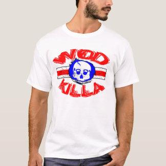 WOD Killa - Kessel-Schädel-Auslese-Fitness-T - T-Shirt