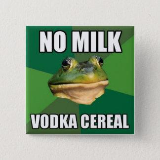 Wodka-Getreide-Knopf Quadratischer Button 5,1 Cm