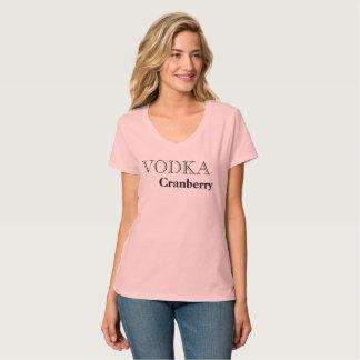 Wodka-Moosbeerlieblingsgetränk-T - Shirt