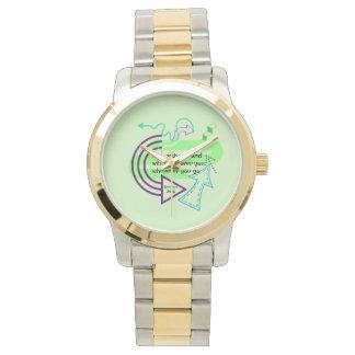 Wohin Sie gehen Armbanduhr