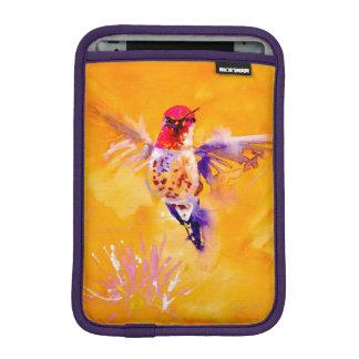 """""""Wohles hallo!"""" Kolibri-Druck iPad Mini Sleeve"""